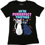 Hot Topic T-Shirt: We're Purrrfect Together