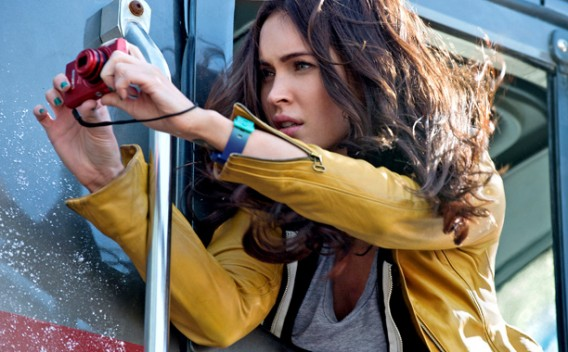 Megan Fox as April O'Neil
